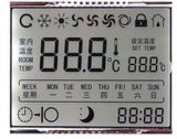 LCDスクリーン表示D6ディジットTN 70 Pin
