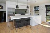 Askl111 de Witte en Zwarte Moderne Keukenkast van de Lak