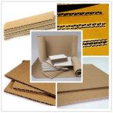 Corrugado cartón doble lado Encoladora