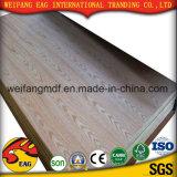 Roble rojo de la chapa natural/madera contrachapada de la ceniza/de la teca para los muebles (E0/E1/E2)