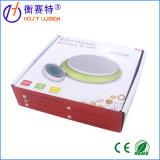 escala verde da cozinha da escala do alimento de 5kg/1g Digitas com bacia