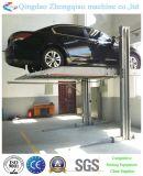 Garage de maison d'ascenseur de stationnement de deux poteaux