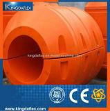 Vagabundo da tubulação do HDPE do grande diâmetro para o projeto de dragagem da tubulação