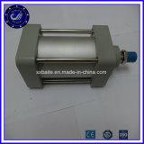 Cylindres pneumatiques de double de piston de cylindre action pneumatique réglable de double