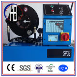 máquina de friso da mangueira hidráulica do controle de computador 380V