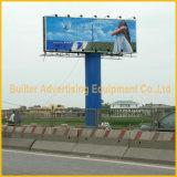 Size enorme Advertizing Outdoor Tri-Vision Billboard su Palo