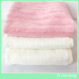 100%Bamboo Fiber Face Towel From中国Factory