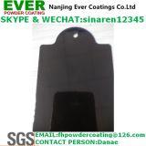Couche glacée lisse de la poudre Ral9005 de pulvérisateur de couleur électrostatique de noir