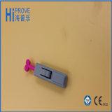 Tirar de la lanceta de sangre disponible superior de la seguridad del acero inoxidable