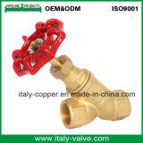El Ce certificó la válvula forjada latón del balance de la garantía de calidad (AV5011)