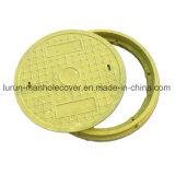 Крышка люка -лаза смолаы типа D600 En124 A15 поли