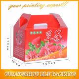 Fuerte caja de empaquetado de papel de fresa