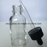 De duidelijke Flessen van het Glas van de Essentiële Olie voor Kosmetische 15ml, 20ml, 30ml, 50ml, 60ml