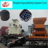 Máquina hidráulica do carvão amassado de carvão da máquina do carvão amassado do carvão vegetal da grande capacidade
