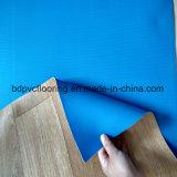 3 mètres plancher commercial de vinyle de largeur/de qualité 1.6mm/pour l'usage d'intérieur à la maison
