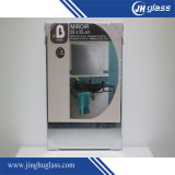 Espelho Home de vidro da vida do aço inoxidável do cair da parede