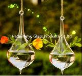 2016 Vente en gros de vaisselle en verre en forme de larme pour décoration maison