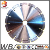 La circular soldada laser del diamante vio la lámina para el concreto