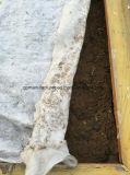 Geotextil no tejido usado en el rectángulo soldado de Gabion
