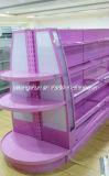 빛을%s 가진 Commodity&Comestics를 위한 슈퍼마켓 강철 선반 또는 선반설치