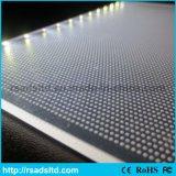 Laser que graba el panel de acrílico de la guía ligera para el rectángulo ligero