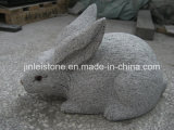Personalizar Natural Granite Various Stone Animal para o jardim Ornament