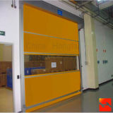 Atelier d'emballage PVC Automatique Fast Roll Up Doors