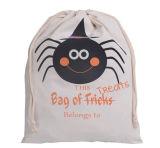 Sac de coton favoris pour Halloween avec cordon