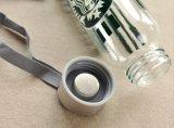 De lege Draagbare Fles van het Glas, de In het groot het Drinken Container van het Glas, de Verpakking van het Glas