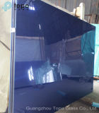 Escuro - edifício matizado azul do flutuador de vidro do vidro do Topo (C-dB)
