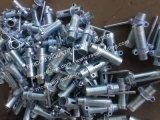 Manicotto d'acciaio del puntello per l'armatura della cassaforma nella costruzione di edifici