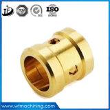 顧客用高精度の黄銅か銅か鋼鉄CNCの機械化の回転部品