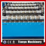 Алюминиевой гофрированный панелью толь металлического листа профиля формировать машину 988