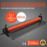 """새로운 51 """" 1300mm 수동 비닐 필름 설치 박판으로 만드는 기계 감기 Laminator"""