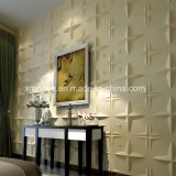 디자인 건축재료를 위한 청각적인 내화성이 있는 3D PVC 벽면
