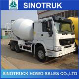 HOWO 6*4 336/371HP 8-12m3 구체 믹서 트럭