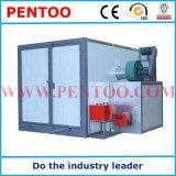 Riscaldamento elettrico che cura forno nella riga di rivestimento della polvere