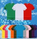 Tela de algodão pura do t-shirt 100% da forma