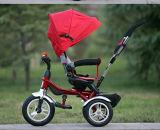 China-Baby-DreiradSpaziergänger-Roller scherzt 4 in 1 Dreirad