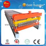 Trapezoidal Joint Type Metal Sheet Roll formando máquina Máquina de fazer telhas