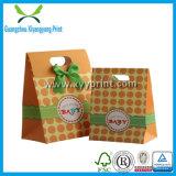 Venda por atacado de papel luxuosa relativa à promoção feito-à-medida do saco de compra