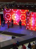 Exposição de diodo emissor de luz ao ar livre