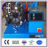 中国の製品の自動油圧ホースのひだが付く機械