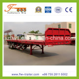 40feet 3axle Flatbed Container Semi-Trailer