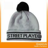 Chapeau tricoté acrylique de broderie faite sur commande avec votre logo