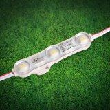 5730 el módulo de la inyección LED de 3LEDs 12V para la muestra pone letras a la iluminación