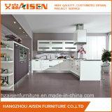 Modules de cuisine pourprés et blancs de membrane de PVC de couleur