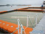 Jaula flotante de la red del ocio de la pesca