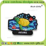 Les aimants de réfrigérateur de souvenir ont personnalisé le dessin animé Aruba (RC-AA) des cadeaux 3D de promotion