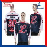 カスタム安いカナダのアイスホッケーのワイシャツのイギリスデザイン